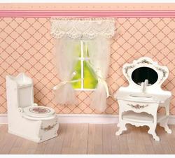 Мебель для кукол Одним прекрасным утром - Туалетная комната Прованс 59407