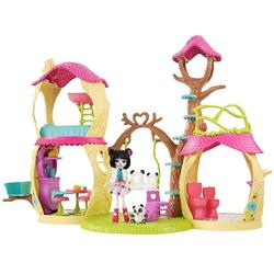 Энчантималс Лесной замок с куклой Прю и пандой Нари FNM92