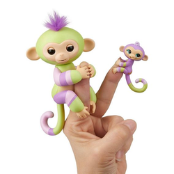 Интерактивная обезьянка с малышом Fingerlings Baby Monkey Jess & Eden 3548M
