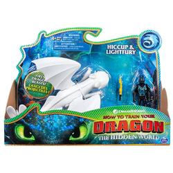 Dragons Дракон Lightfury and Hiccup Дневная фурия и Викинг 66621/1