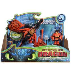 Dragons Как приручить дракона 3 Hookfang and Snotlout Дракон Кривоклык и викинг Сморкала 66621/4