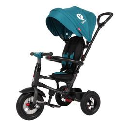 Трехколесный складной велосипед Q Play с надувными колесами  QA6G  зеленый