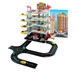 Игровая парковка 5 уровней с автотреком 01/740