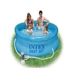 Бассейн надувной Intex Easy set INTEX 54912