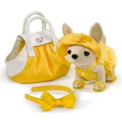 Chi Chi Love Чихуахуа в платье с сумкой и аксессуарами для ребенка 20 см  5899574