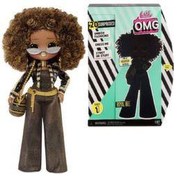 Кукла Лол сюрприз большая LOL Surprise O.M.G. Royal Bee Fashion Doll with 20 сюрпризов 560555