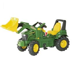 Rolly Toys Трактор педальный надувные колеса, две скорости rollyFarmtrac John Deer 7930 710126 от 4-х лет