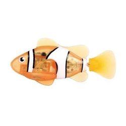 Robo Fish Роборыбка светодиодная Клоун оранжевый плавает в воде, светится 2541C