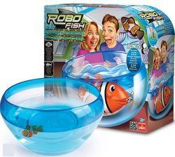 Robo Fish Аквариум для роборыбок и роборыбка Клоун оранжевая 2502
