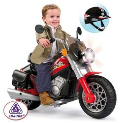 Аккумуляторный мотоцикл 6V Custom Falcon Injusa 690