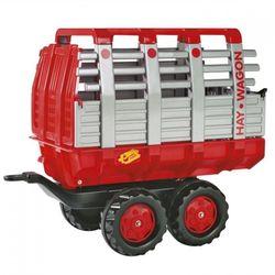 Прицеп тележка rollyHay Wagon red 122820