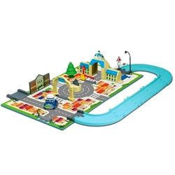 Робокар Поли Игровой набор Город Мэрия c машинкой Масти Robocar Poli 83279