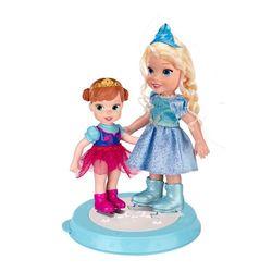 Куклы Принцессы Дисней Холодное Сердце Игровой набор Две куклы 15 см. на катке Disney Princess 310180