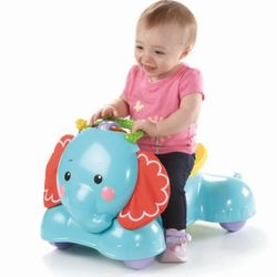 Каталка 3 в 1 Слоник Fisher-Price CBN62 / BFH56