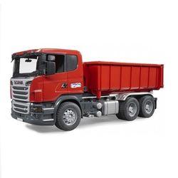 Машина Брудер Cамосвал-контейнеровоз Scania Bruder 03-522