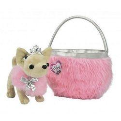 Chi Chi Love Собачка Чи Чи Лав Принцесса Чихуахуа с пушистой сумкой 5890618