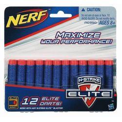 Nerf Комплект 12 стрел для бластеров Нерф A0350H