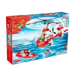 Конструктор BanBao Пожарные Маленький спасательный вертолет 150 деталей 8305