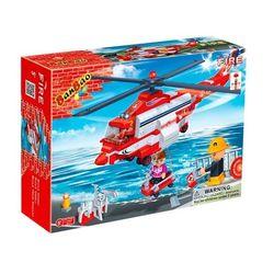 Конструктор BanBao Пожарные Спасательный вертолет 272 детали 8315