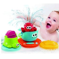 Игрушка для ванны Плавающий остров с фонтаном Blue-Box 04645