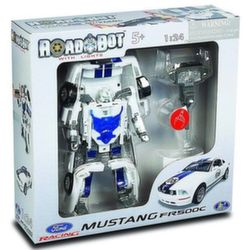 Робот трансформер Ford FR 500C Mustang 1:24 Happy Well 53071hw