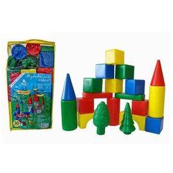 Детский конструктор Волшебный городок 30 деталей 6545