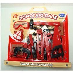 Набор инструментов, 15 предметов Помогаю папе Rinzo PT-00023 (718)