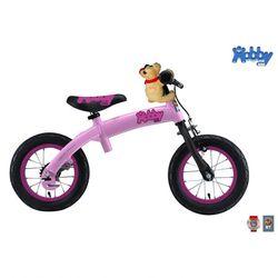 Велобалансир-велосипед Hobby-bike pink aluminium + педали