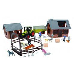 Набор Ферма: 72 предмета, трактор Dickie 3608002