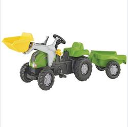 Rolly Toys Трактор педальный  RollyKid-X,green 012169/409310 от 2-х лет
