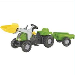 Rolly Toys Трактор педальный rollyKid Lader, rollyKid Trailer 023134 от 2-х лет
