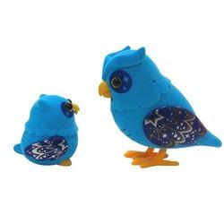 Little Live Pets Говорящая Сова с Совенком 28040 голубой