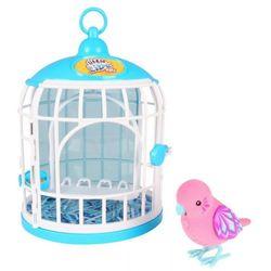 Little Live Pets Говорящая птичка в домике 28092 розовый