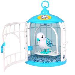 Little Live Pets Говорящая птичка в домике 28092 белый