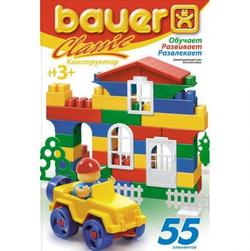 Bauer Конструктор Кроха Classik 55 элементов 196b