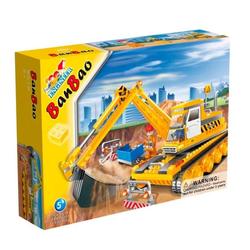 Banbao конструктор Экскаватор 220 деталей 8519