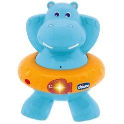 Chicco игрушка для ванны Счастливый бегемотик 70306