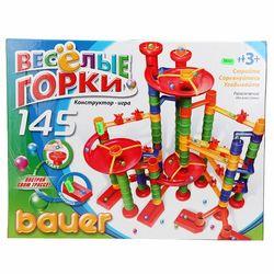 Конструктор Веселые горки, 145 элементов Bauer