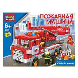 Конструктор Город мастеров Пожарная машина, 210 деталей BB-8302-R