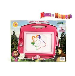 Доска для рисования Маша и Медведь цветная 1113462