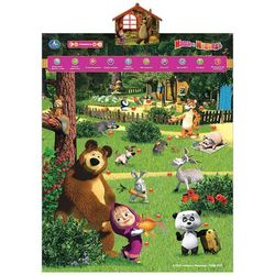 Обучающий плакат Умка В мире животных. Маша и Медведь IP6254