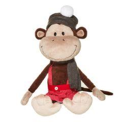 Мягкая игрушка Обезьянка Валек в шапке 20 см MT-TS0215004