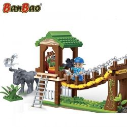 Конструктор BanBao Сафари 236 деталей 6658