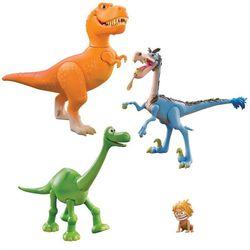 Игровой набор Хороший Динозавр Арло, Спот, Бабба и Ремси подвижные 62910