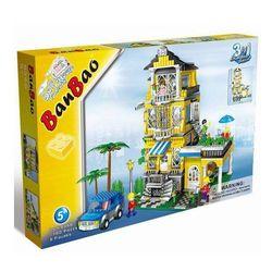 Конструктор Banbao Домик для куклы 1100 деталей 8368