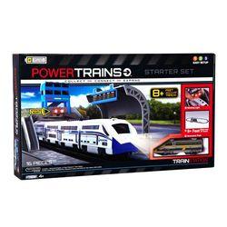 Железная дорога PowerTrains + станция 62217