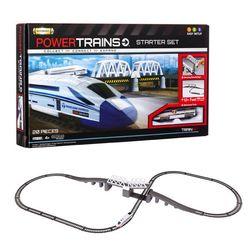 Железная дорога PowerTrains Премиум-набор с мостом и локомотивом 41384
