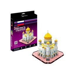 3D пазл объемный Храм Христа Спасителя Россия C205h