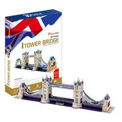 3D пазл объемный Тауэрский Мост Великобритания MC066h