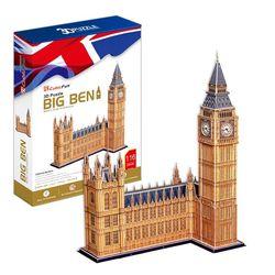 3D пазл объемный Биг Бен Великобритания MC087h
